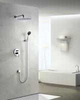 Zestaw prysznicowy podtynkowy z deszczownicą i prysznicem <br/>  DEN-ZKP.150C