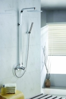 Zestaw wannowo-prysznicowy natynkowy  GAL-ZWPN.500C