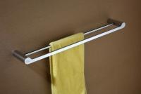 Wieszak na ręczniki podwójny  <br/> DOR-97022
