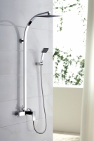 Zestaw kabinowo-prysznicowy natynkowy  TOR-ZKPN.400C