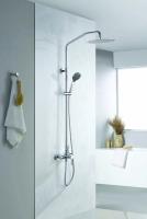 Zestaw kabinowo-prysznicowy natynkowy  DEN-ZKPN.400C