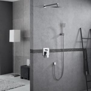 Zestaw prysznicowy podtynkowy z deszczownicą i prysznicem <br/> MON-ZKP.150C