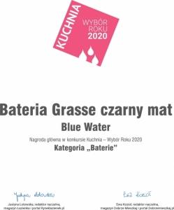 Grasse - czarny mat