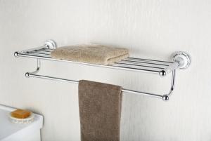 Półka na ręczniki z relingiem    <br/>        NIK-57010
